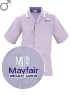Mayfair male tunic